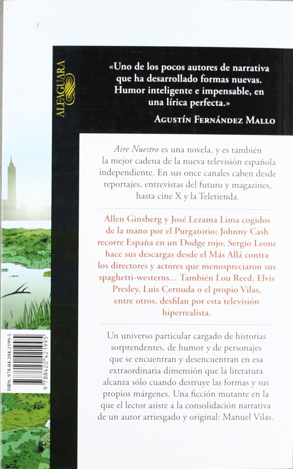 Aire Nuestro (Hispánica): Amazon.es: Vilas, Manuel: Libros