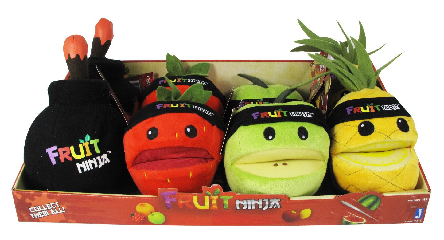 Fruit Ninja - Assortiment Peluche sonore 13cm: Amazon.es ...