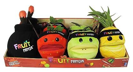 Fruit Ninja - Assortiment Peluche sonore 13cm: Amazon.es ...