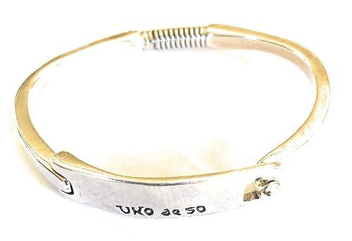 Nouvelle bas prix sortie en ligne Amazon.com: Uno de 50 Mars Bracelet PUL1863MTL0000M: Jewelry