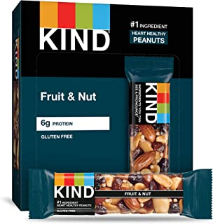 product image for KIND Bars, Fruit & Nut, Gluten Free, Low Sugar, 1.4 Ounce Bars, (Packaging May Vary) (Pack of 12)
