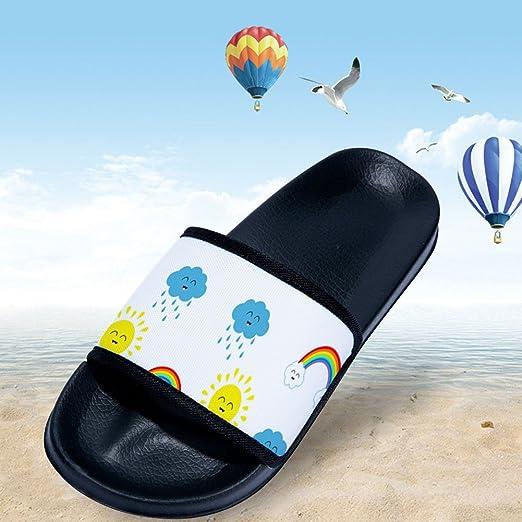Little Kid//Big Kid Feisette Slides Sandals for Boys Girls Soft Sole Anti-Slip slipper Shoes