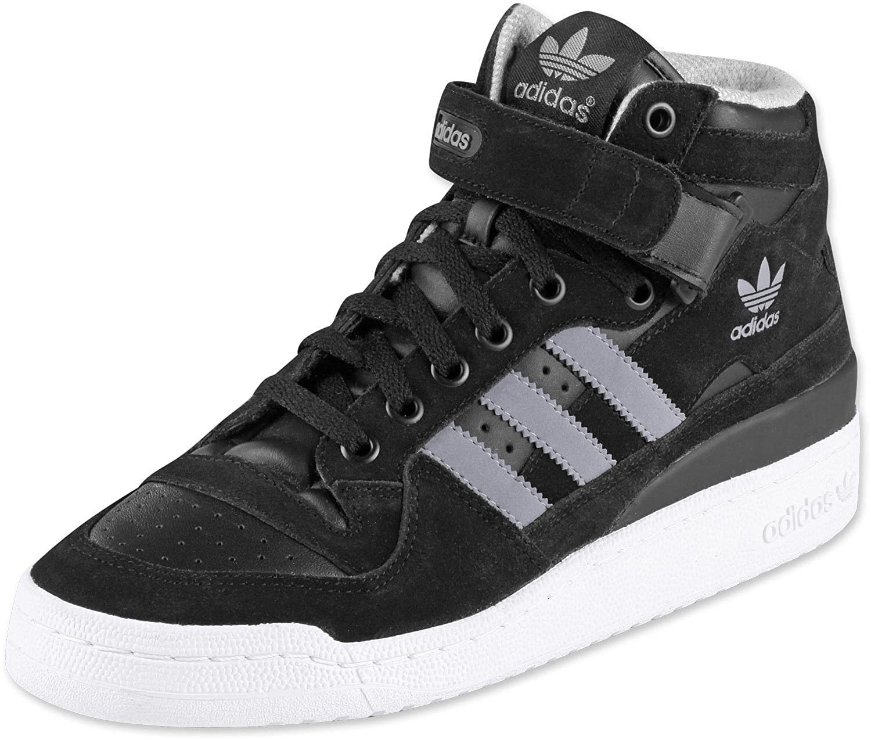 best sneakers c6b96 f22ed adidas Originals Forum mid RS Mens hi top Trainers G62880 Sneaker Shoes (UK  11.5 US 12 EU 46 2 3, BLACK1 TECGRE WHT)  Amazon.co.uk  Shoes   Bags