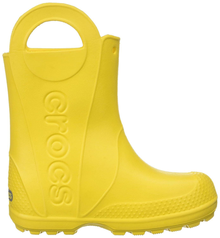 Crocs Handle It Rain Boot, Botas de Agua Unisex Niños, Amarillo (Yellow), 32/33 EU: Amazon.es: Zapatos y complementos