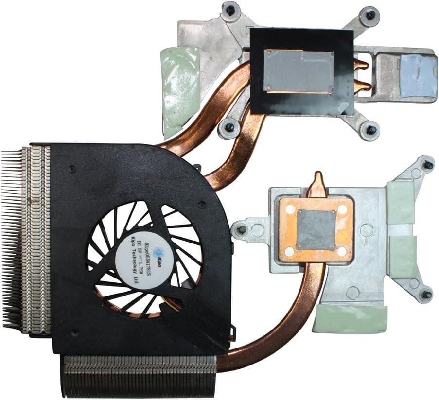 Power4Laptops Version 2 (Please Check The Picture) Replacement Laptop Fan with Heatsink for HP Pavilion dv6-2195et