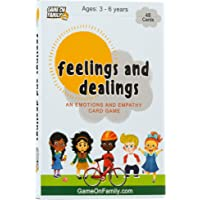 Feelings and Dealings: An Emotions and Empathy Card Game | Award-Winning | Therapy Games for Kids | Social and Emotional…