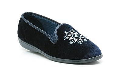 02ac8ce2788 Ladies K s By Clarks Slippers Marsha Navy Size 8C  Amazon.co.uk ...