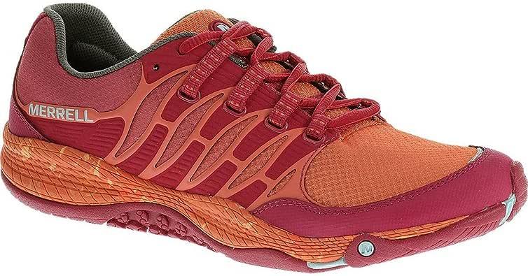 Merrell - Zapatillas para Correr en montaña de sintético para Mujer Naranja Naranja, Mujer, Naranja: Amazon.es: Deportes y aire libre