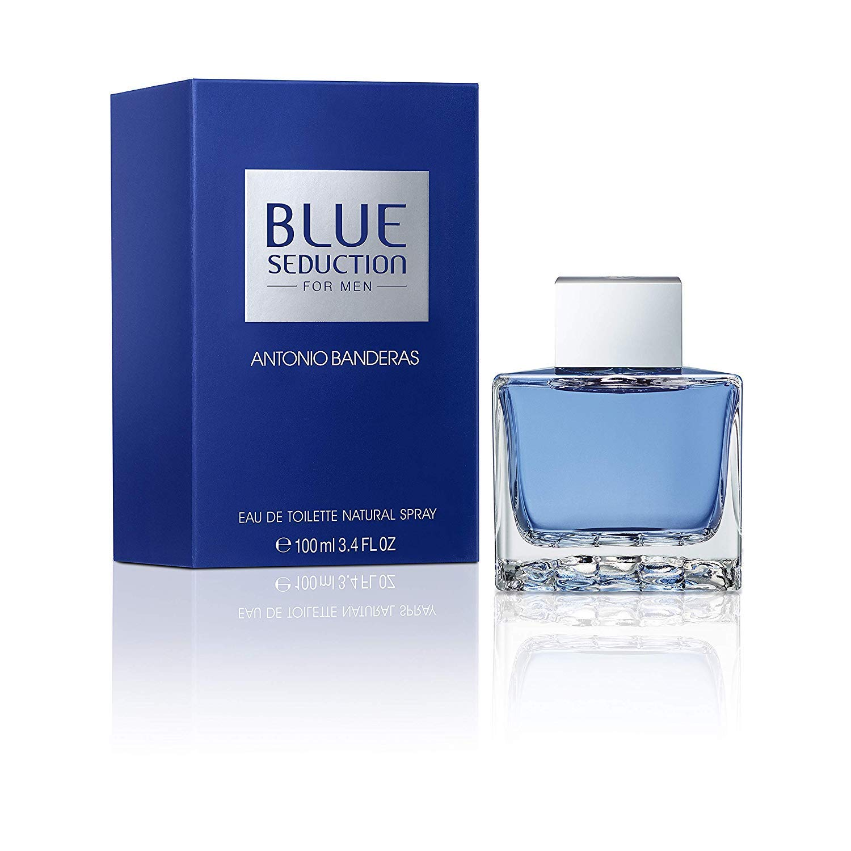 Antonio Banderas Blue Seduction Eau de Toilette Spray 100 ml