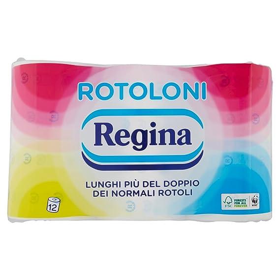 Regina Carta Igienica Rotoloni Confezione Da 12 Rotoli Amazon
