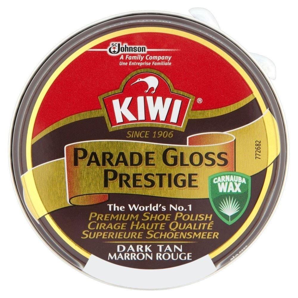 Kiwi Parade Gloss Prestige Shoe Polish - Dark Tan (50ml) Groceries