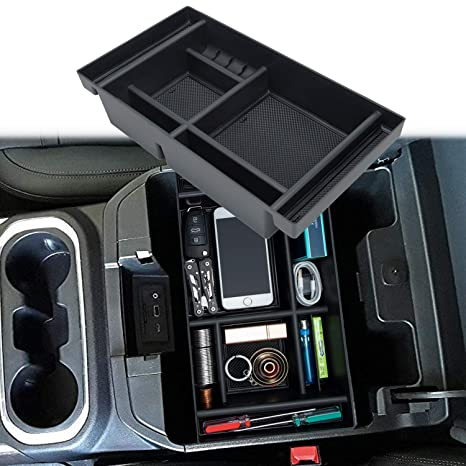 Surprising Jkcover Center Console Organizer Tray Compatible With 2019 Chevy Silverado 1500 Gmc Sierra 1500 And 2020 Chevy Silverado Gmc Sierra 1500 2500 3500 Hd Pdpeps Interior Chair Design Pdpepsorg