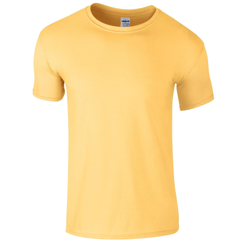 Gildan Mens Short Sleeve Soft-Style T-Shirt (Dark Heather)