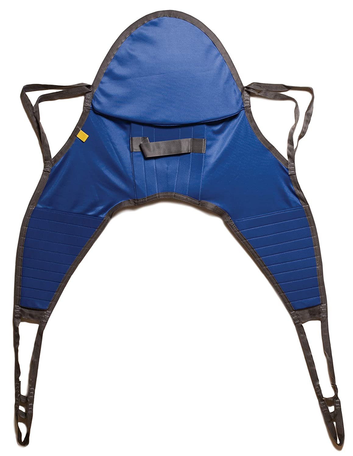 Lumex Hoyer Style Sling with Head Support for Patient Lifts, Solid Fabric, Medium, 500 Pounds, DSHC70012