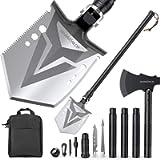 Sahara Sailor Survival Shovel with Axe, High Carbon Steel Tactical Shovel Camping Shovel Hatchet Combo - 4 Thicken…