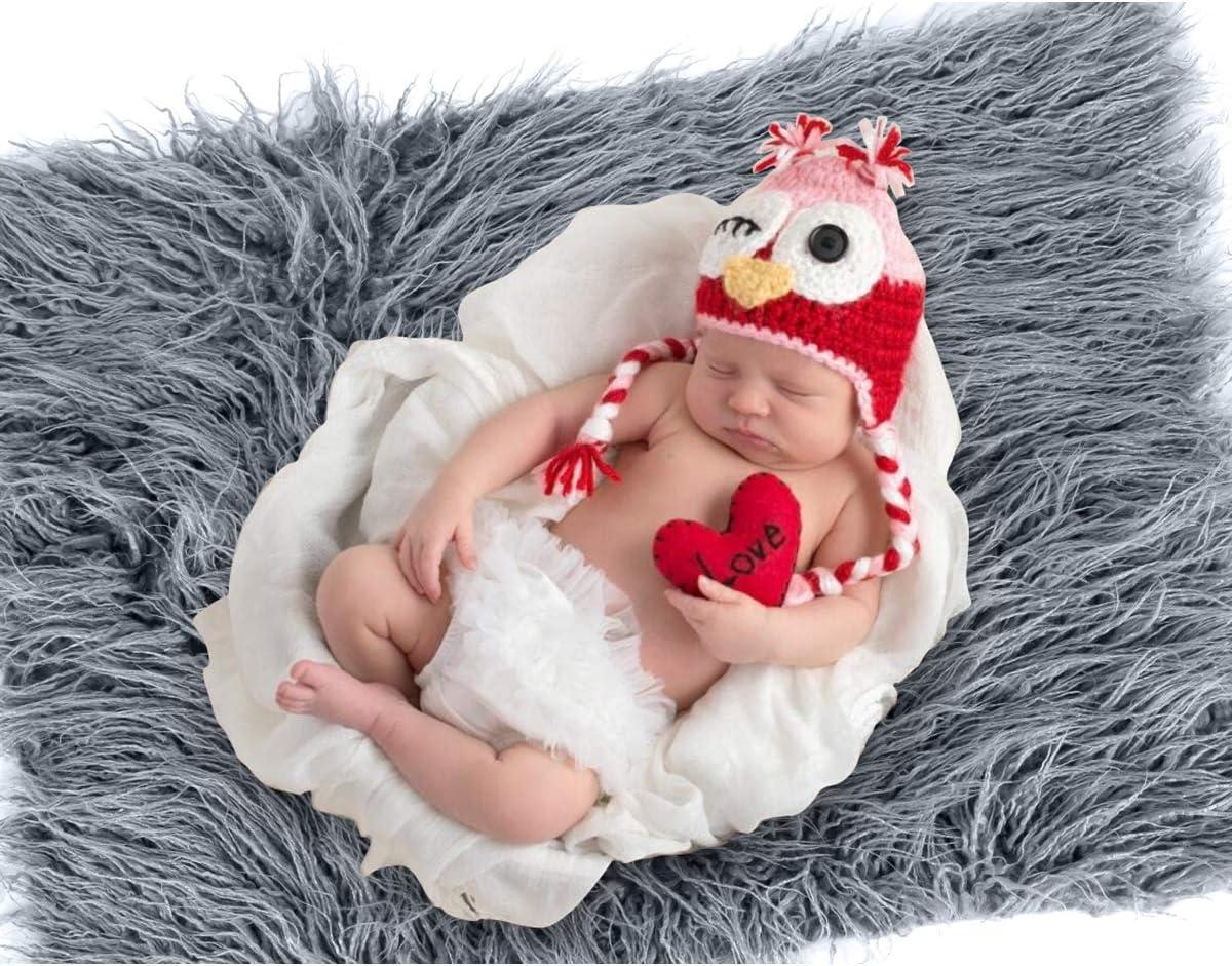 coffee Baby Photo Props Fluffy Blanket Ripple Wrap Set Newborn Photography Wrap Mat