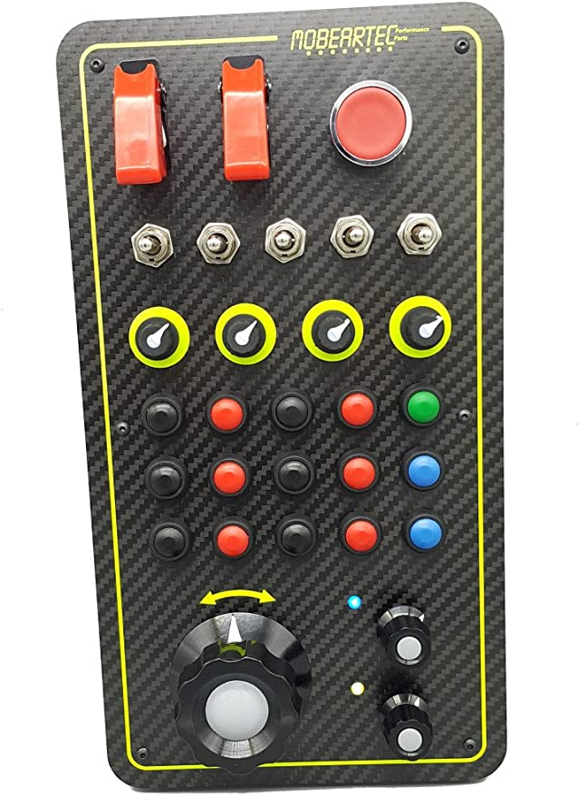 Mobeartec Racecontrol Pro Usb Simracing Button Box For Amazon De Computers Accessories
