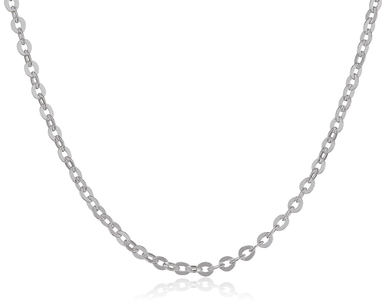 1mm Halskette silber in 40 45 50 60 70 cm verf/ügbar #K30 MATERIA feine Ankerkette 925 Sterling Silber