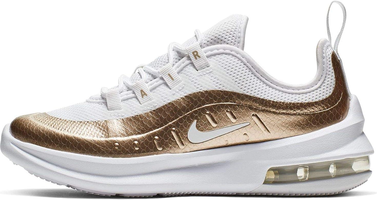 Nike Air MAX Axis EP (PS), Zapatillas de Running para Niñas, Multicolor (White/Blur/Metallic Silver 000), 30 EU: Amazon.es: Zapatos y complementos