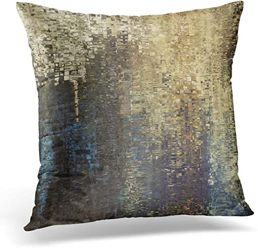 Amazon.com: Duplins Throw Pillow Cover Abstract Colored Geometric