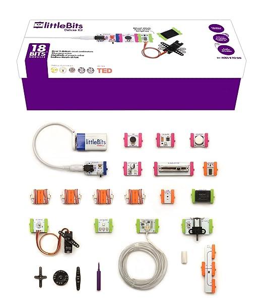 2 opinioni per LittleBits, Kit di dotazione elettronica Deluxe