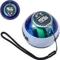 COLFULINE Energybal, autostart rotatiebal, led-licht, basic gyroscopische handtrainer, spiertrainer, met box, voor het…