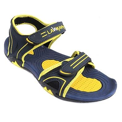 40135f01379c LAWMAN PG3 Men s Casual Amazing Outdoor Men Boys Sandals   Floaters (7)  Yellow
