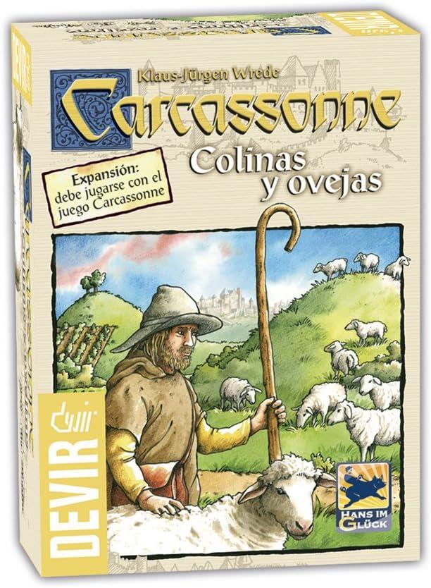 Devir - Carcassonne Colinas y Ovejas, Juego de Tablero (BGCOVE ...