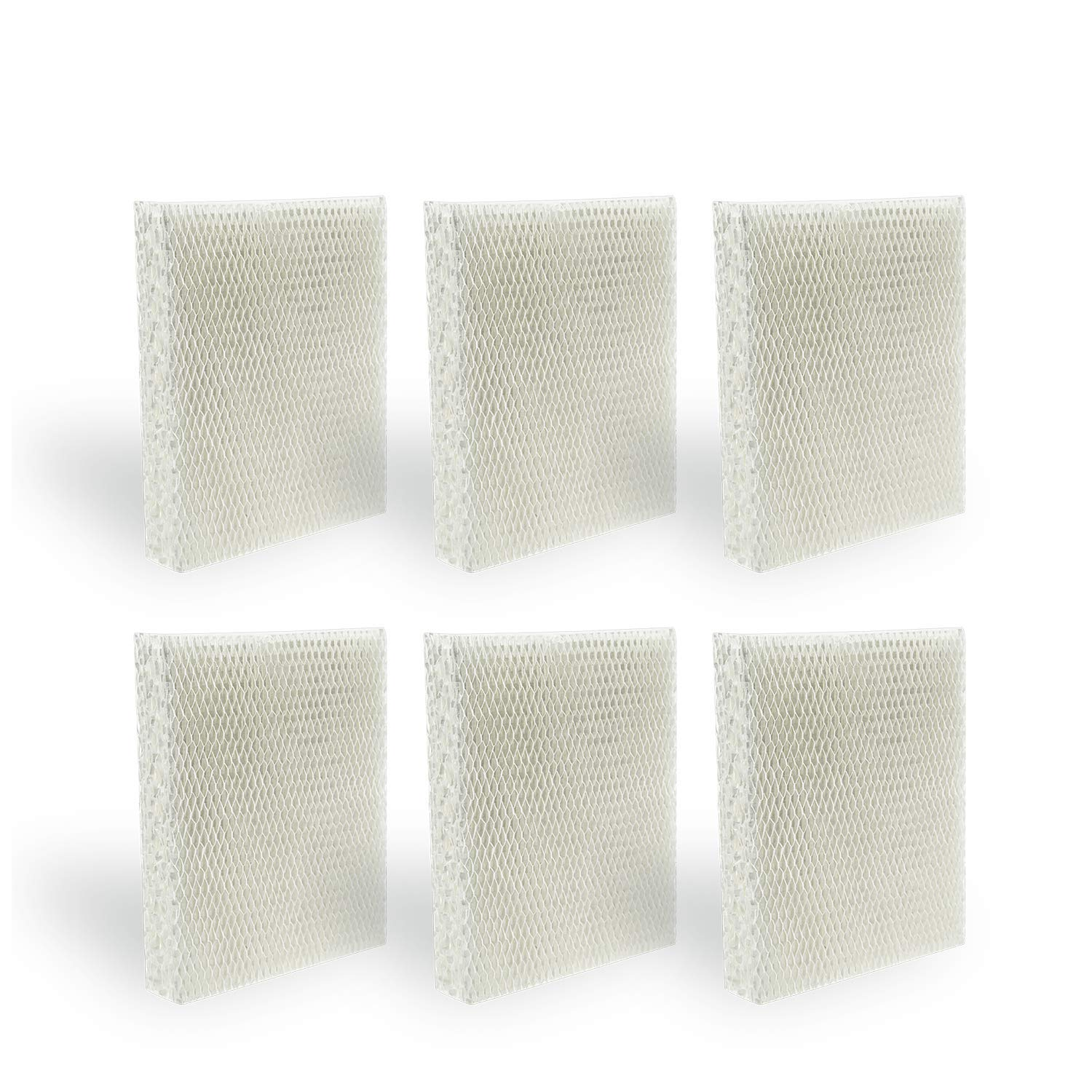BIHARNT 6 Pack HEV615,HEV620 Humidifier Wicking Filters Compatible with Honeywell HFT600,HFT600T, HFT600PDQ, Filter T by BIHARNT