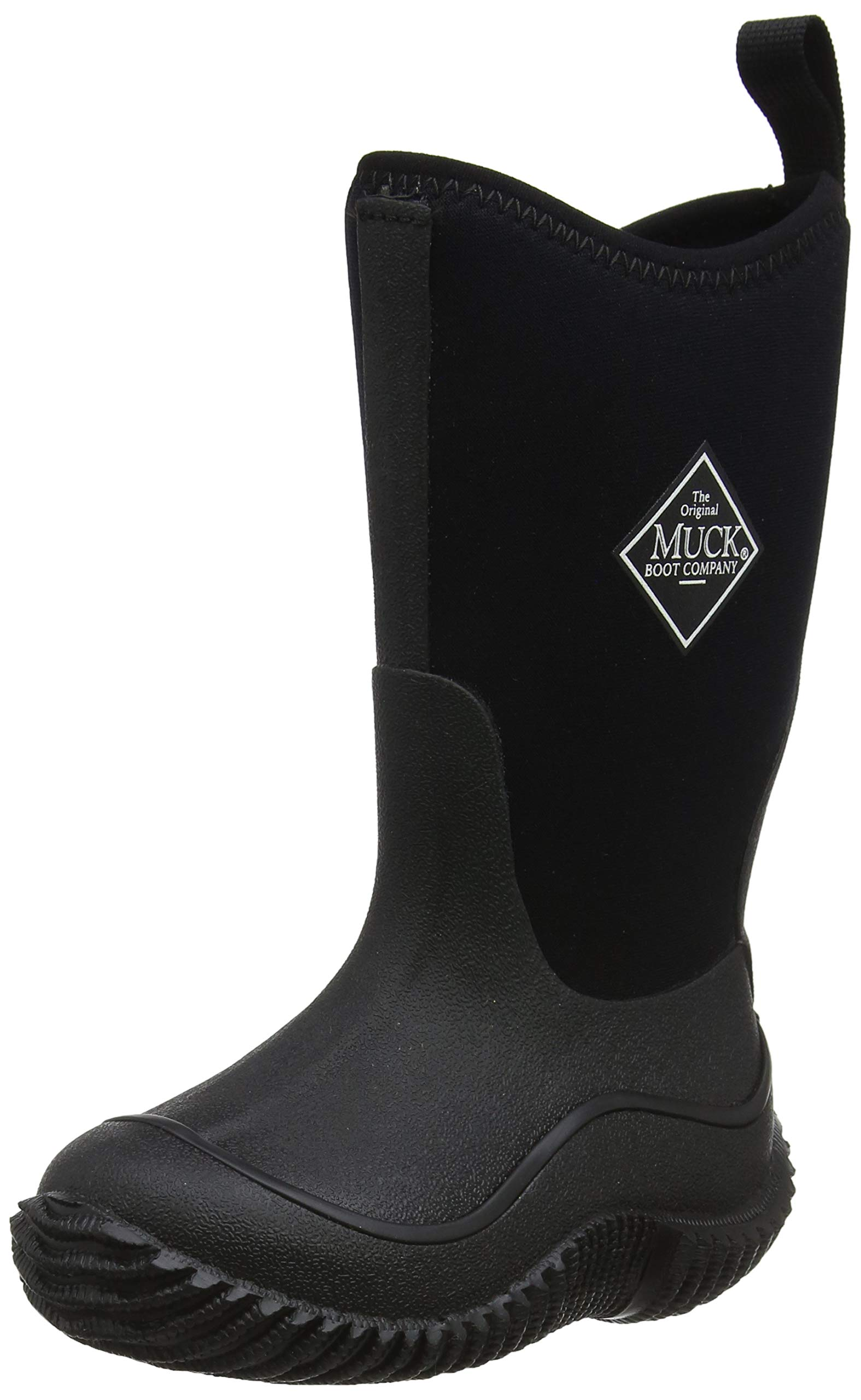 Muck Boots Hale Multi-Season Kids' Rubber Boot,Black/Black,1 M US Little Kid by Muck Boot