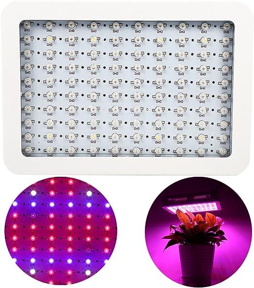 1000w Led Lampe De Plante Eclairage De Horticole Panneau Lampe De Croissance Avec Ir Uv Lumiere Pour Les Plantes Legume Fleur Interieurs Amazon Fr Luminaires Et Eclairage