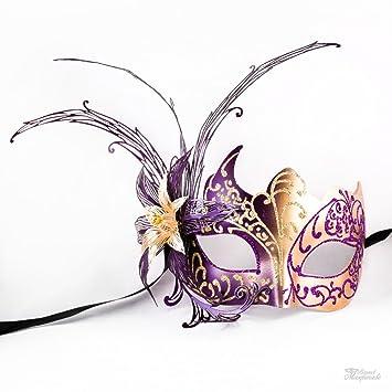 Amazon.com: Veneciano púrpura y oro Dream Butterfly ...