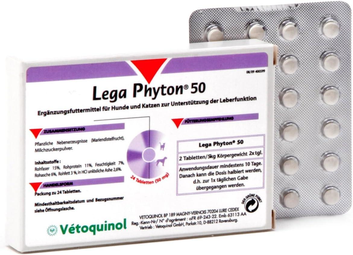 Vetoquinol Lega Phyton 50 - 24 pastillas
