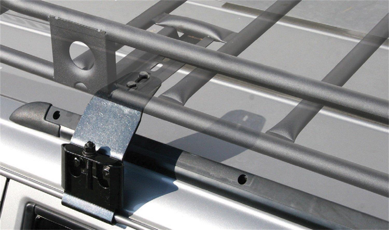 Smittybilt Hd 4 Rain Gutter Clamps Incl 4 Clamps Upper Extension Bracket Rain Gutter Clamps Automotive Replacement Parts