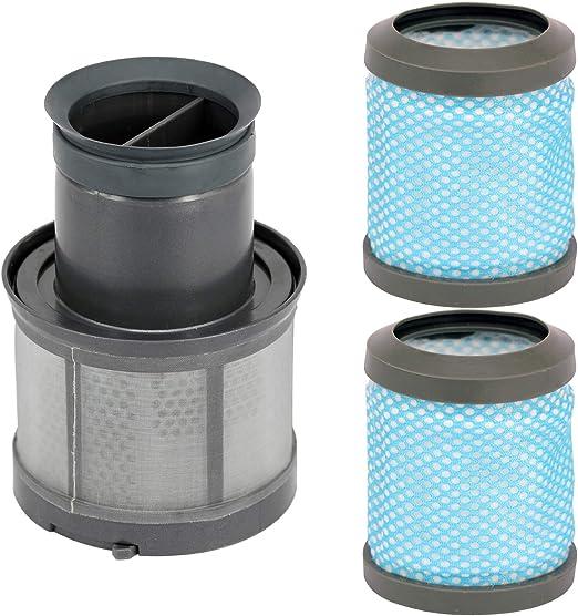 Spares2go T113 - Filtro de escape de motor lavable + cabezal de ...