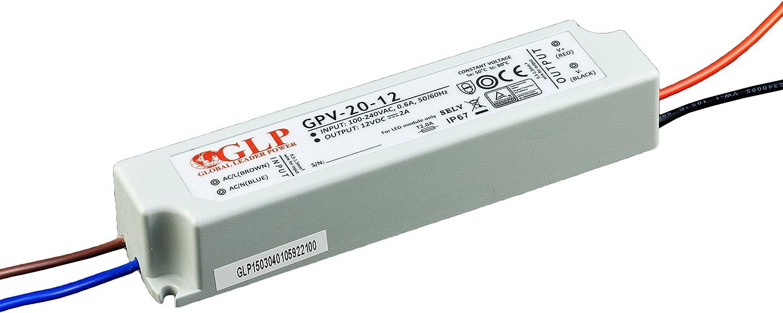 LED GLP transformador de 24 V 24 W IP67 GPV