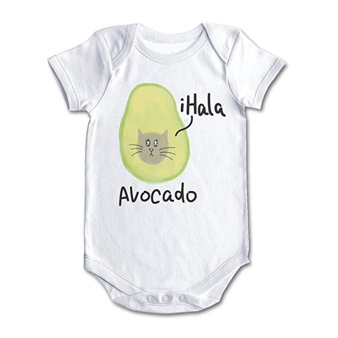 bc91ff7ac Amazon.com  Trum Namii Unisex Newborn Baby Clothes Cute Cat Avocado ...