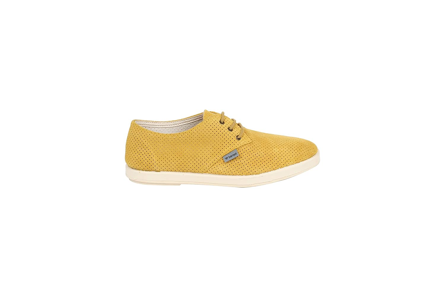 BARQET Unisex-Erwachsene Dogma Low Perforated Suede Turnschuhe