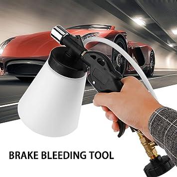 Coche Neumático Freno Herramienta de Sangrado Freno Embrague Líquido Purgador Herramienta Aire Herramienta de vacío para automóviles Camiones Motocicletas: ...