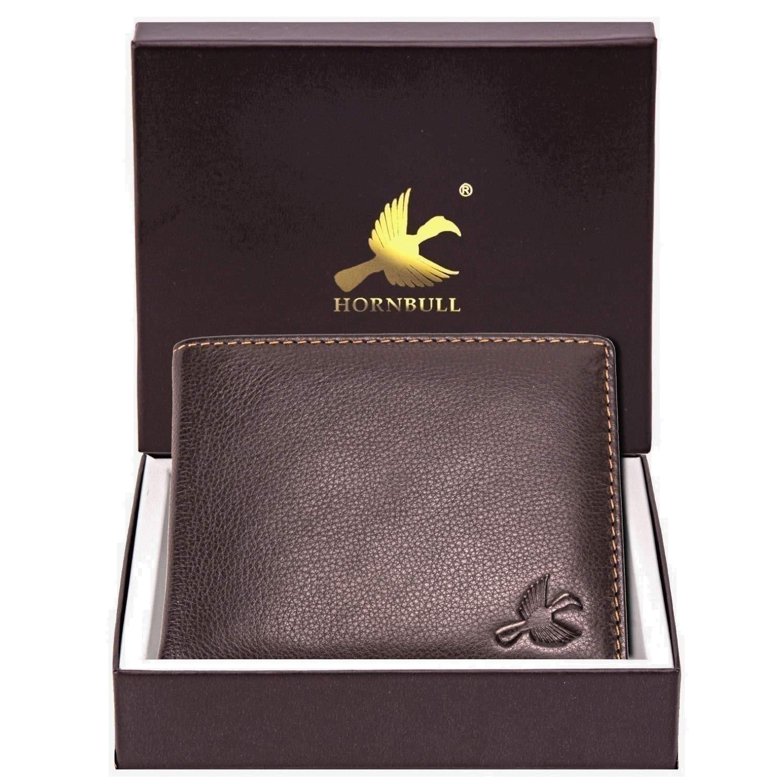 HORNBILL Maddison Men's Brown Genuine Leather Wallet