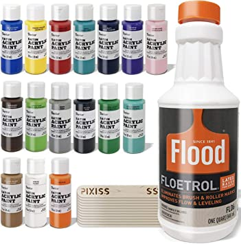 Amazon Com Floetrol Pouring Medium For Acrylic Paint Pouring