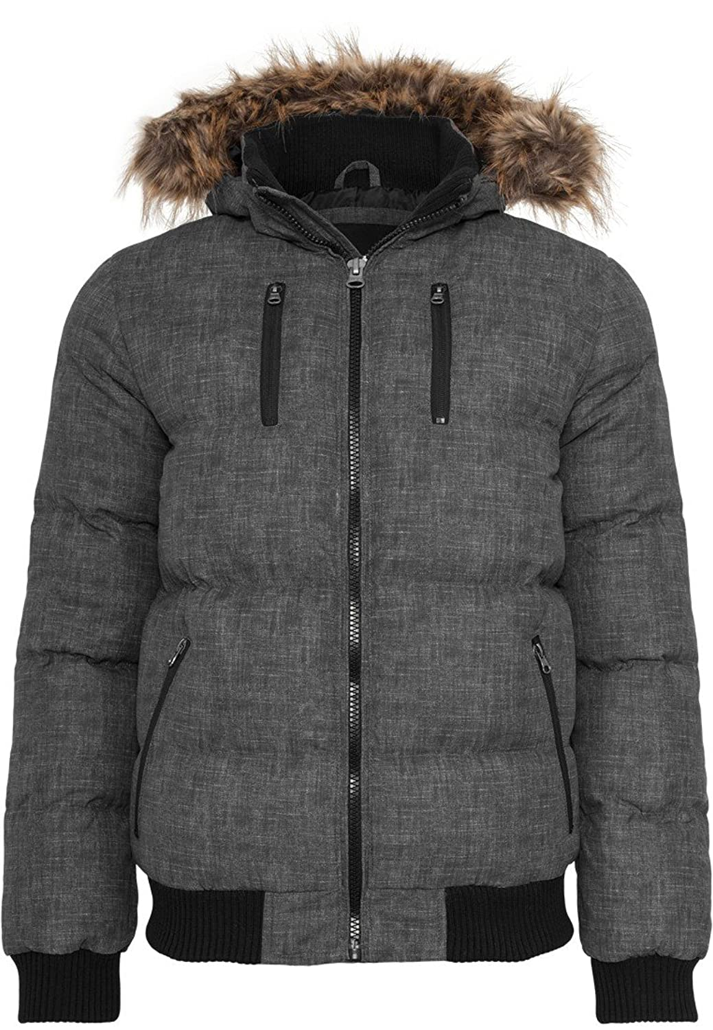 TB894 Melange Expedition Bubble Jacket Herren Jacke Kapuze Winterjacke