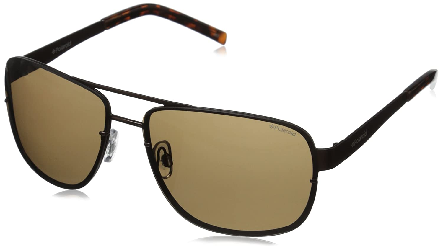 Amazon.com: Polaroid Sunglasses Mens PLD2025S Polarized Rectangular Sunglasses, Brown & Brown Polarized, 63 mm: Clothing