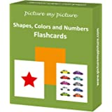 Shapes Colors and Numbers: 40 Flash Cards