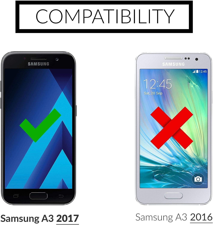 UTECTION 2X Protector de Pantalla para Samsung Galaxy A3: Amazon ...