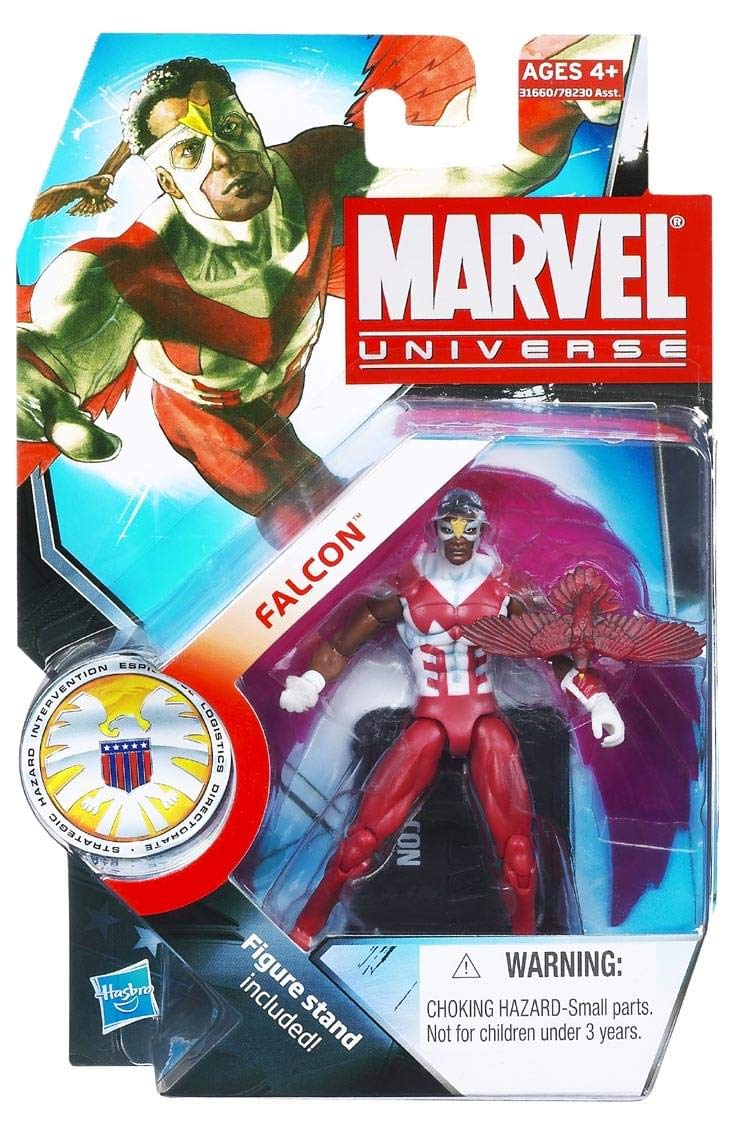 Hasbro Marvel Universe Series 3 Action Figure Falcon Hasbro 1001119 653569598947