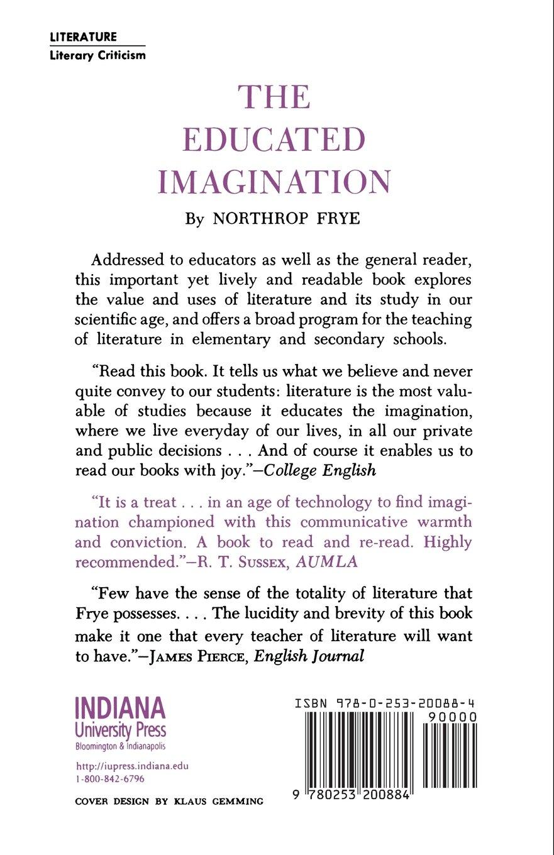 The Educated Imagination (Midland Books)
