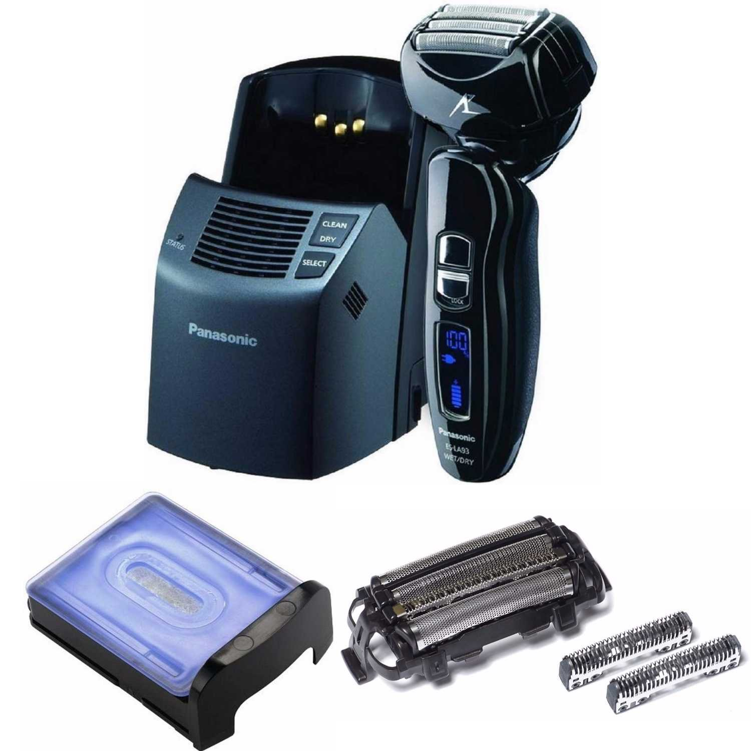 Panasonic Arc4 Men's Razor w/HydraClean Solution and Repl. Inner Blade and Foil