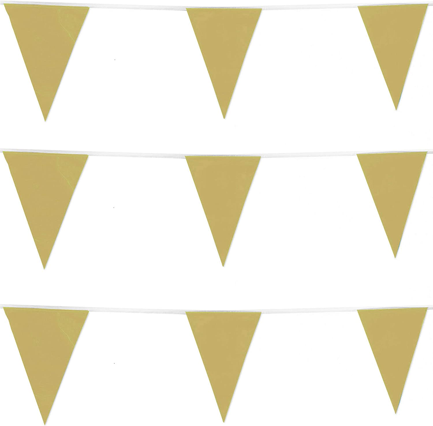 10m COLOUR BUNTING FLAGS PENNANTS PARTY DECORATIONS PARTIES FLAG WEDDING COLOURS