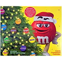 2018 mars assorted candy christmas advent calendar with mms snickers skittles milkyways - Candy Christmas Gifts